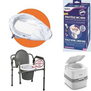 Dr Helewa продукти торбички с абсорбатор Toilet bowl liner