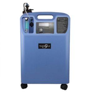 Изображение на кислороден концентратор с принадлежности за дишане на медицински кислород